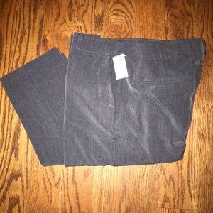 Straight leg trousers- grey